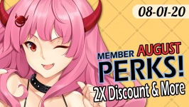 ToyDemon August 2020 Member Perks