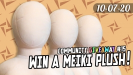 Community Giveaway #15: Meiki Plush of Choice for 3 Winners!