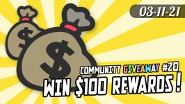 Community Giveaway #20: $100 in Rewards for 5 winners! Are you spending your stimulus on onaholes?