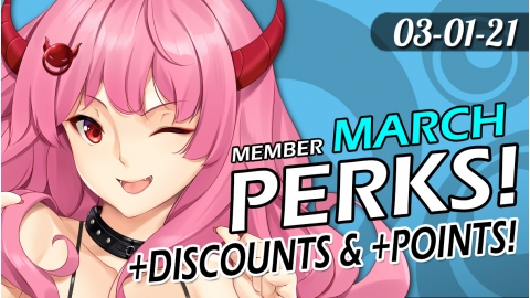 ToyDemon March 2021 Member Perks