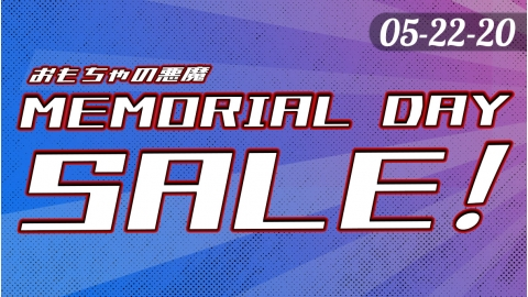 ToyDemon Memorial Day Sale 05-22 to 05-26