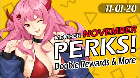 ToyDemon November 2020 Member Perks!