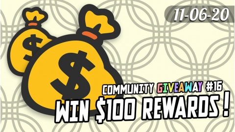 Community Giveaway #16: $100 in Rewards for 5 winners!