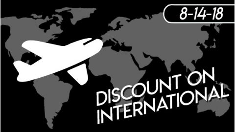 New Shipping Promotion For International/AK/HI Customers