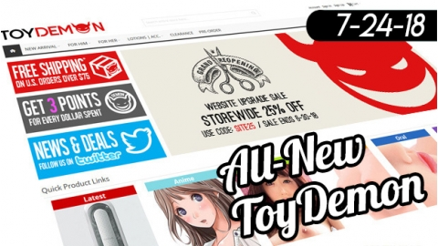 Looks aren't the only thing new with ToyDemon!