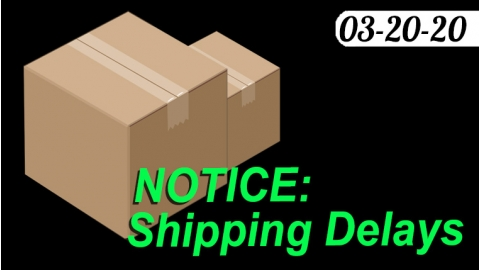 Possible Shipping Delays