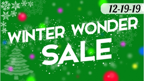 Winter Wonder Sale 12-18 to 12-31