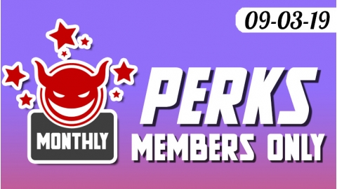 September Monthly Loyalty Member Perks are here