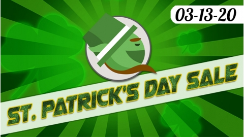 St. Patrick's Day Sale 03-13 to 03-20