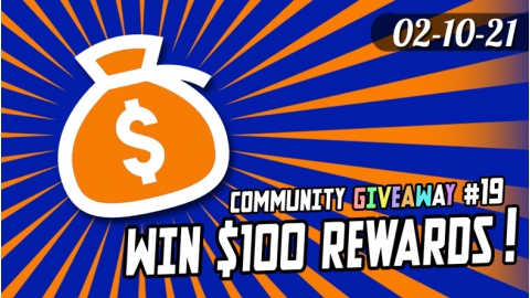 Community Giveaway #19: $100 in Rewards for 5 winners! Poll and Site Feature