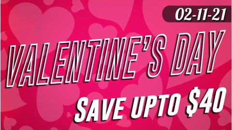 Valentine's Day Sale to 02-15