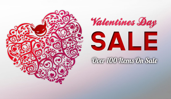 Valentine's Sale Is On!