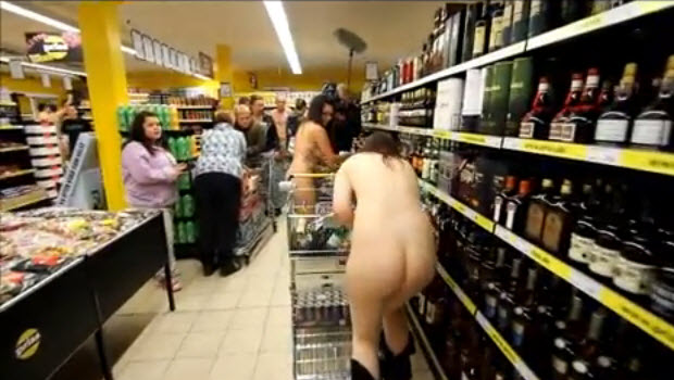 Shop Nude For Free Grocery NSFW