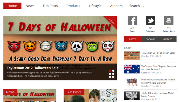 New Look For the ToyDemon Blog!!