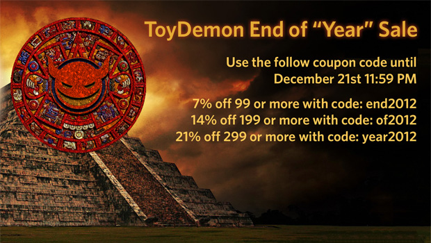 "ToyDemon End of ""Year"" Sale"