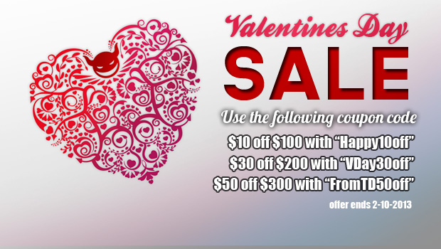 ToyDemon 2013 Valentine's Day Sale