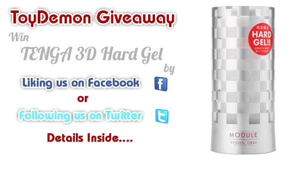 "ToyDemon Weekly Giveaway: TENGA 3D Module Hard Gel Masturbator Limited Edition ""Updated With Winner"""