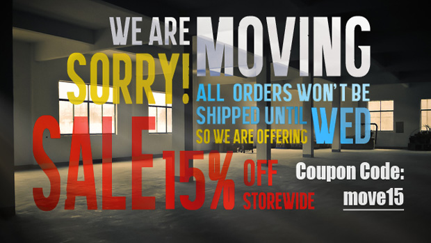 We Are Moving So Good Time For A Moving Sale