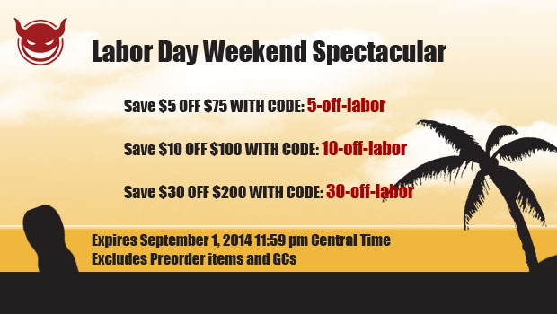 ToyDemon 2014 Labor Day Sale