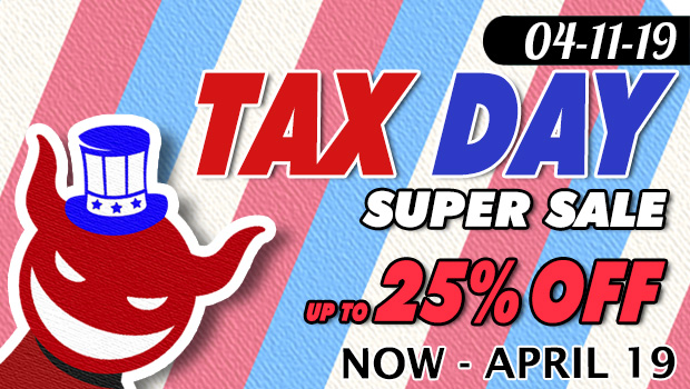 Tax Day Super Sale 04-11 to 04-22