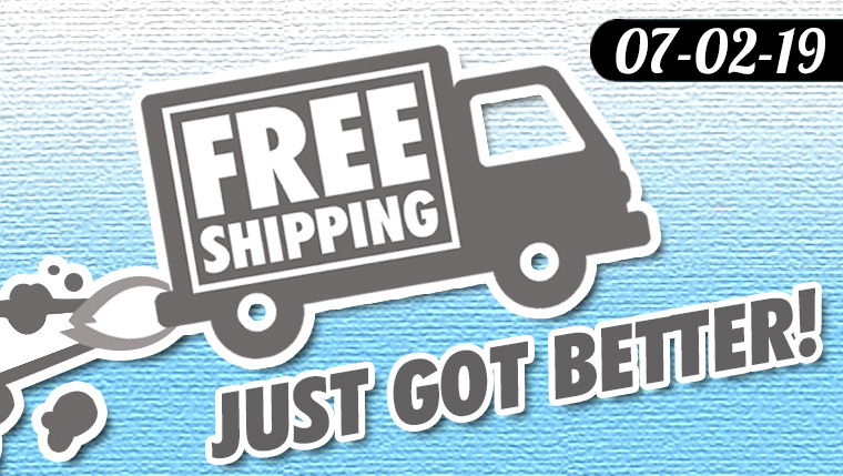 Free U.S. Shipping now at $35!
