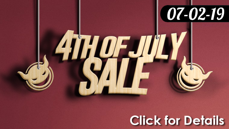 4th of July Sale 07-02 to 07-09