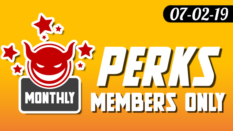 Monthly Loyalty Member Perks are now back!