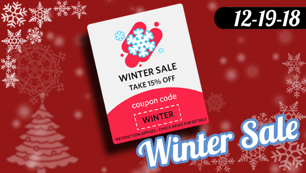 Winter Wonder Sale 12-19 to 12-31