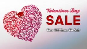 Valentine's Day Sale is On