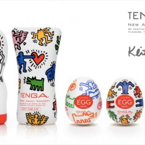 Keith Haring x TENGA Edition CUPs and EGGs