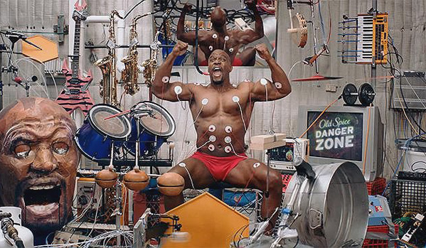 Old Spice Terry Crews Back Muscle Solo