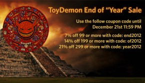 ToyDemon End of the Year Sale