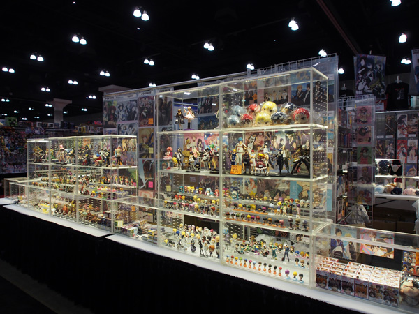AX14 Anime Expo 2014 Figure display