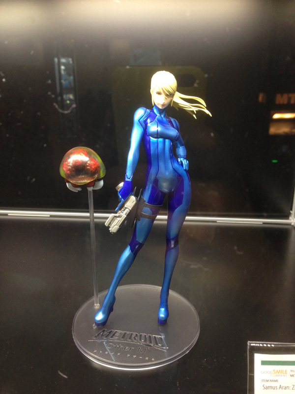 AX14 Anime Expo 2014 Figure Samus from Metroid