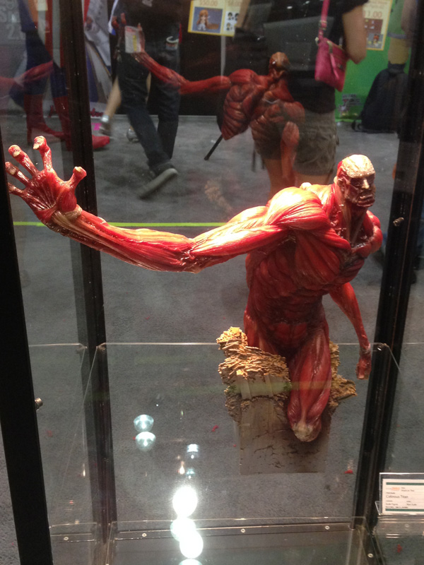 AX14 Anime Expo 2014 Figure Attack On Titan