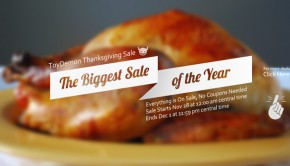 ToyDemon Thanksgiving 2014 Sale