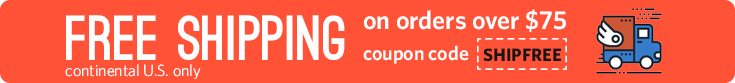 Free Shipping on Orders Over 75